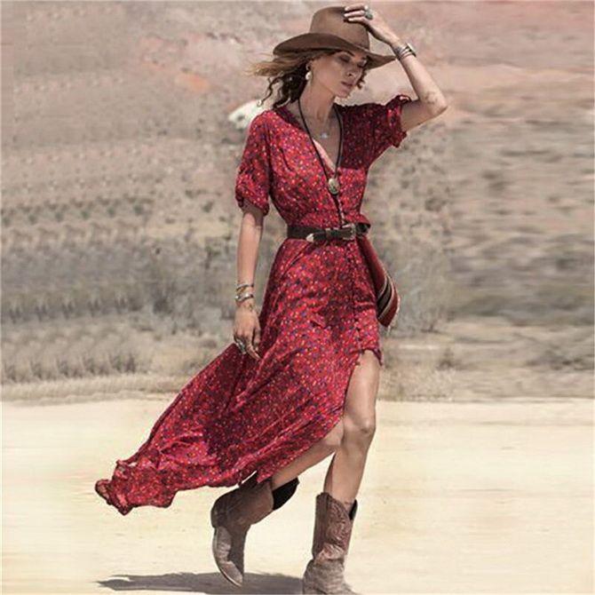 Образ ковбойки: стиль кантрі в жіночому одязі 11