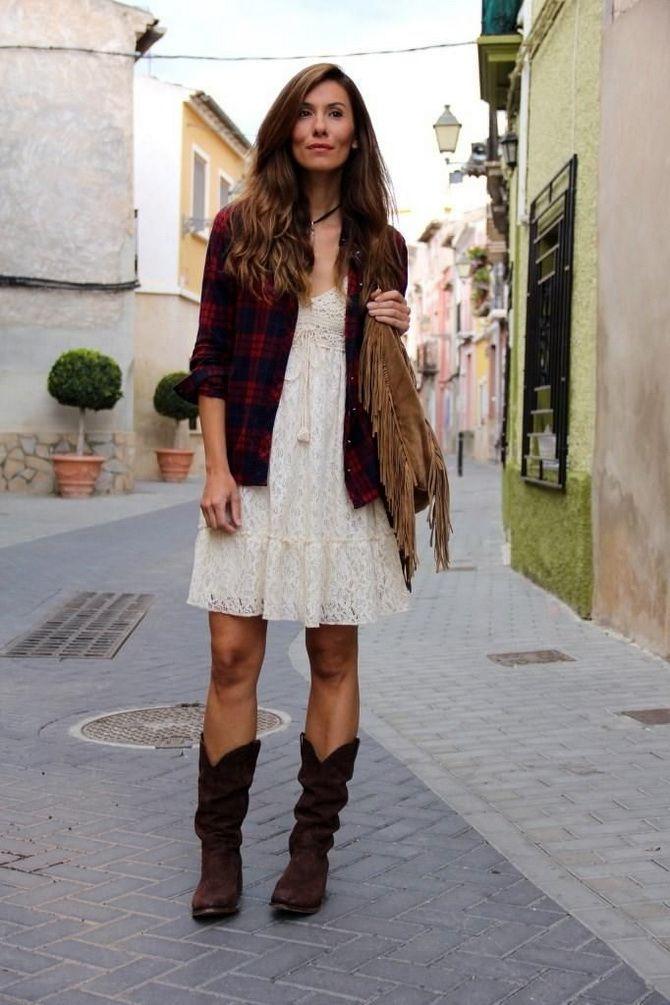 Образ ковбойки: стиль кантрі в жіночому одязі 14