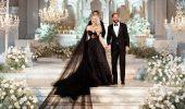 Знаменитые невесты, которые вышли замуж в черном свадебном платье