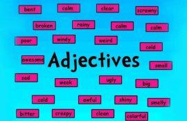 Список найкорисніших англійських описових прикметників