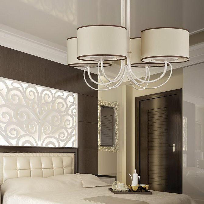 Как выбрать люстру для спальной комнаты 1