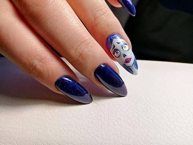 Манікюр на Геловін 2021: неймовірно жахливі ідеї дизайну нігтів 4