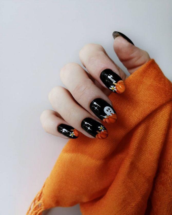 Манікюр на Геловін 2021: неймовірно жахливі ідеї дизайну нігтів 3