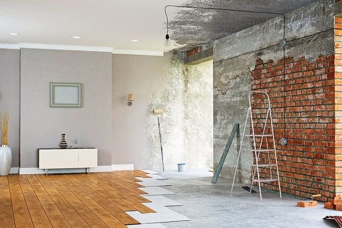 Простой и быстрый ремонт дома: что нужно знать при отделке помещений? 1