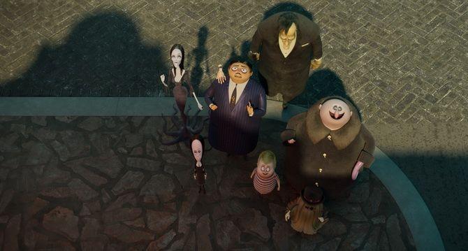 Мультфильм «Семейка Аддамс: Горящий тур» (2021) — сложности пубертатного периода 3