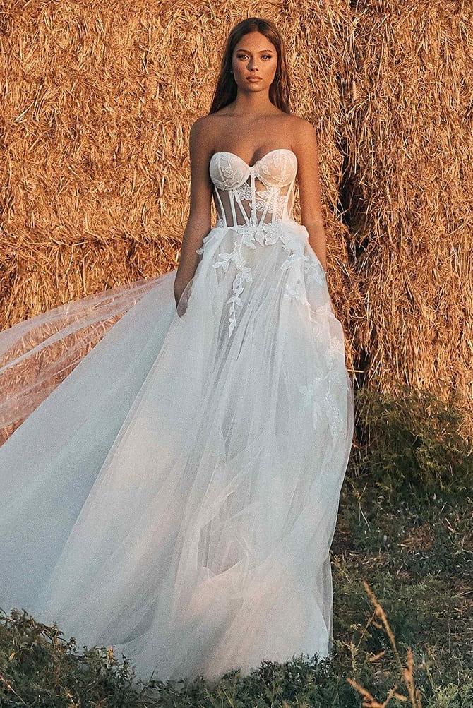 Красивая невеста: эксклюзивные свадебные платья в салоне Blanche Moscow 4